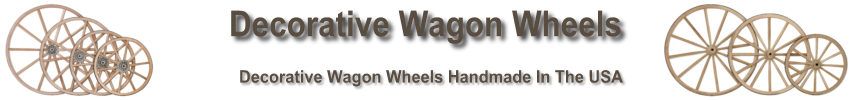 Handmade Steel Wagon Wheels